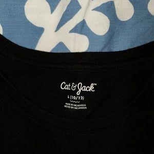 Cat & Jack Shirts & Tops - Black Cat & Jack long sleeve shirt